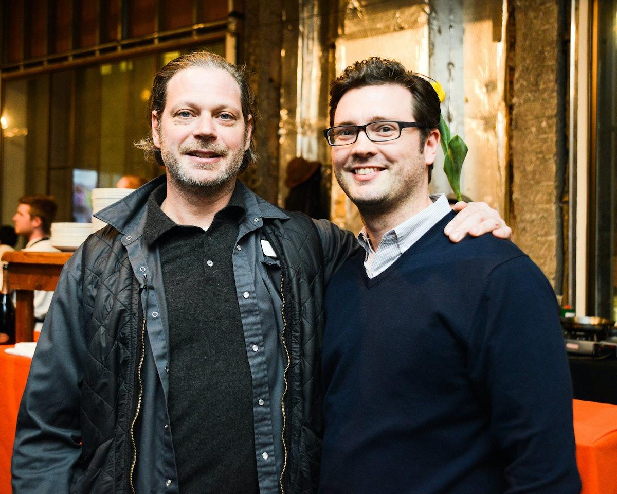 Frank Falcinelli and Greg Fanslau