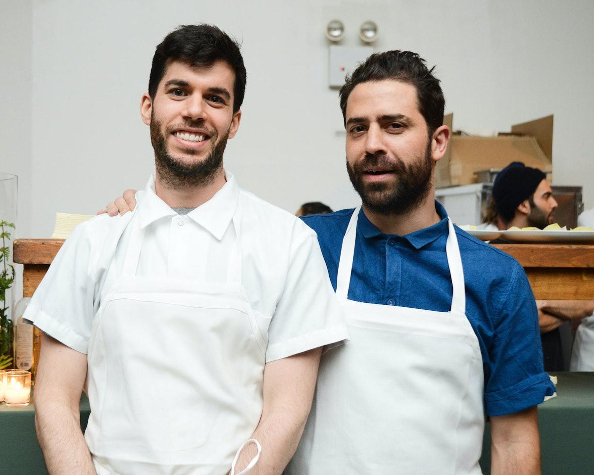 Danny Newberg and Ignacio Mattos