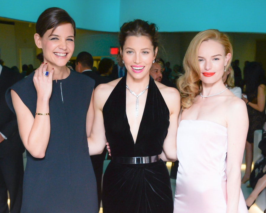 Katie Holmes, Jessica Biel, and Kate Bosworth