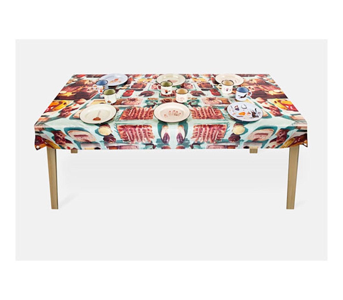 Maurizio Cattelan Tablecloth