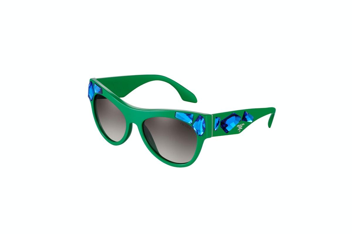 Prada Bejeweled Sunglasses