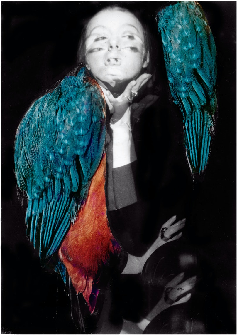 """Flying in Dreams,"" 1969/2014 by Penny Slinger."