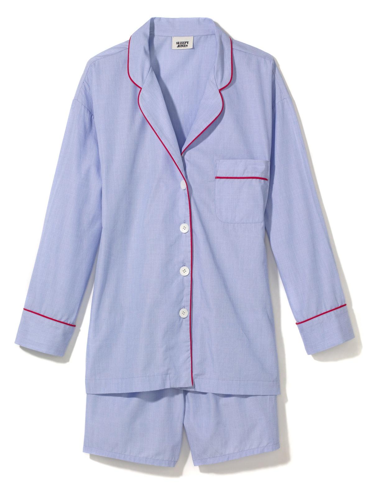 Sleepy Jones pajama shirt