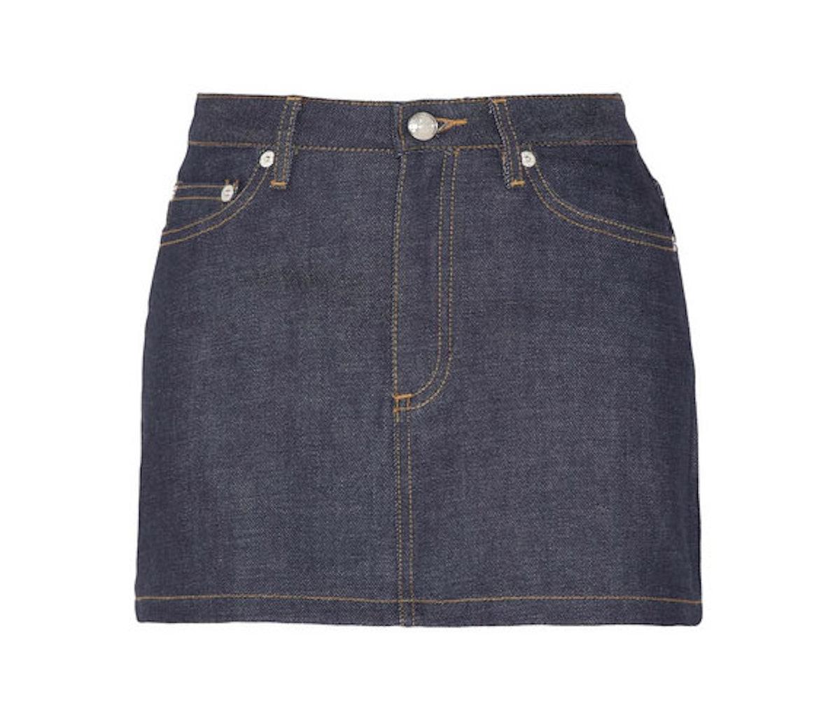 APC Denim Skirt
