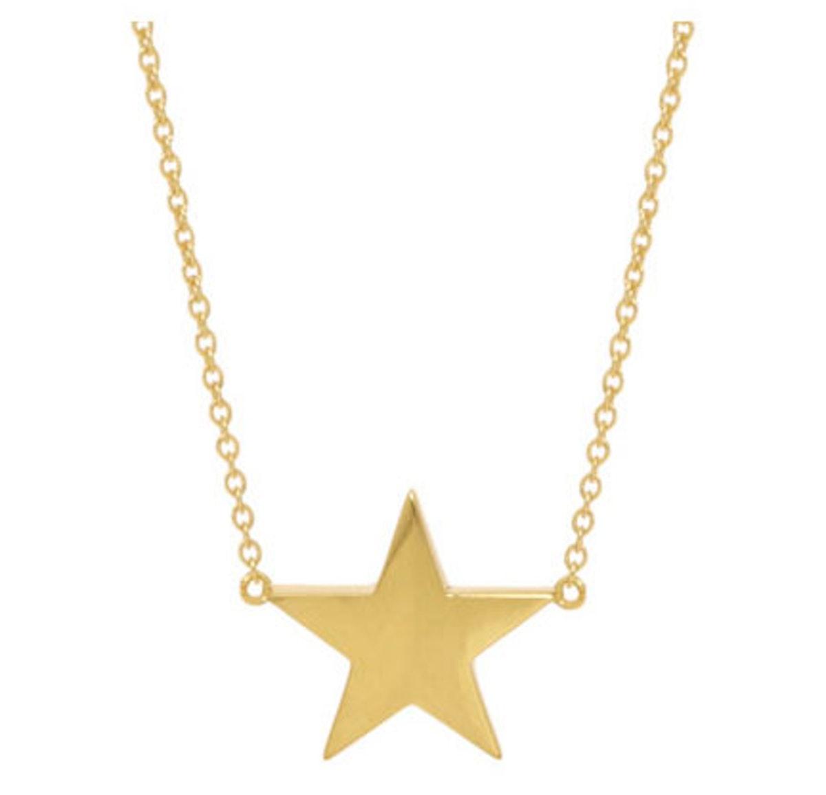 Jennifer Meyer Star Necklace