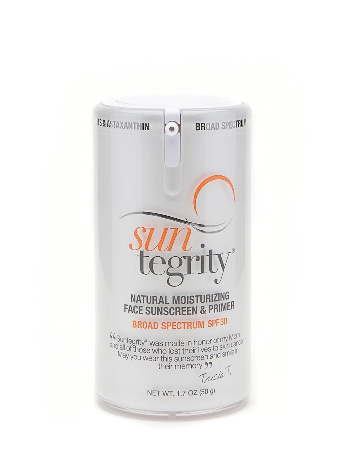 Suntegrity Natural Moisturizing Face Sunscreen & Primer