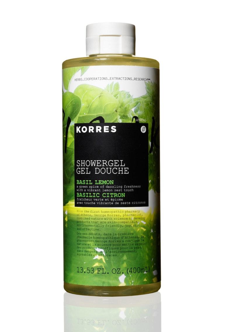Korres Basil Lemon Shower Gel