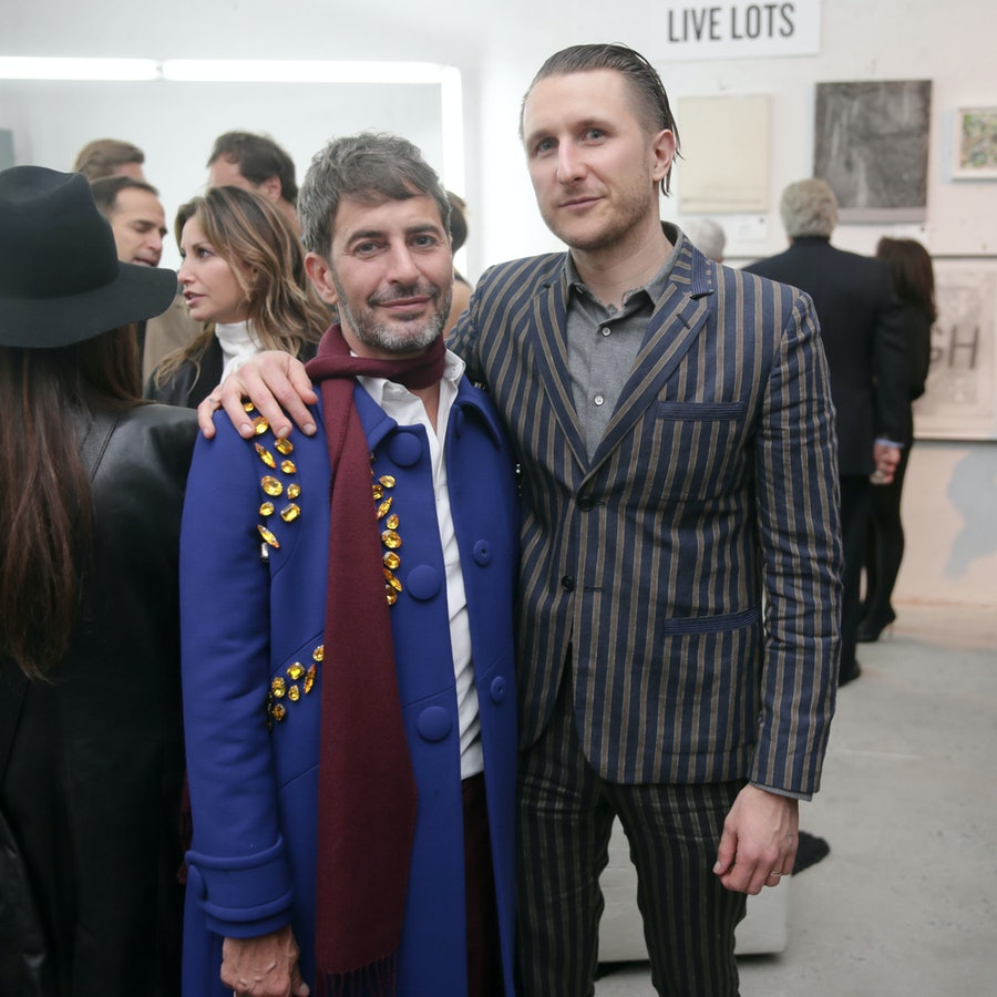 Marc Jacobs and Scott Campbell