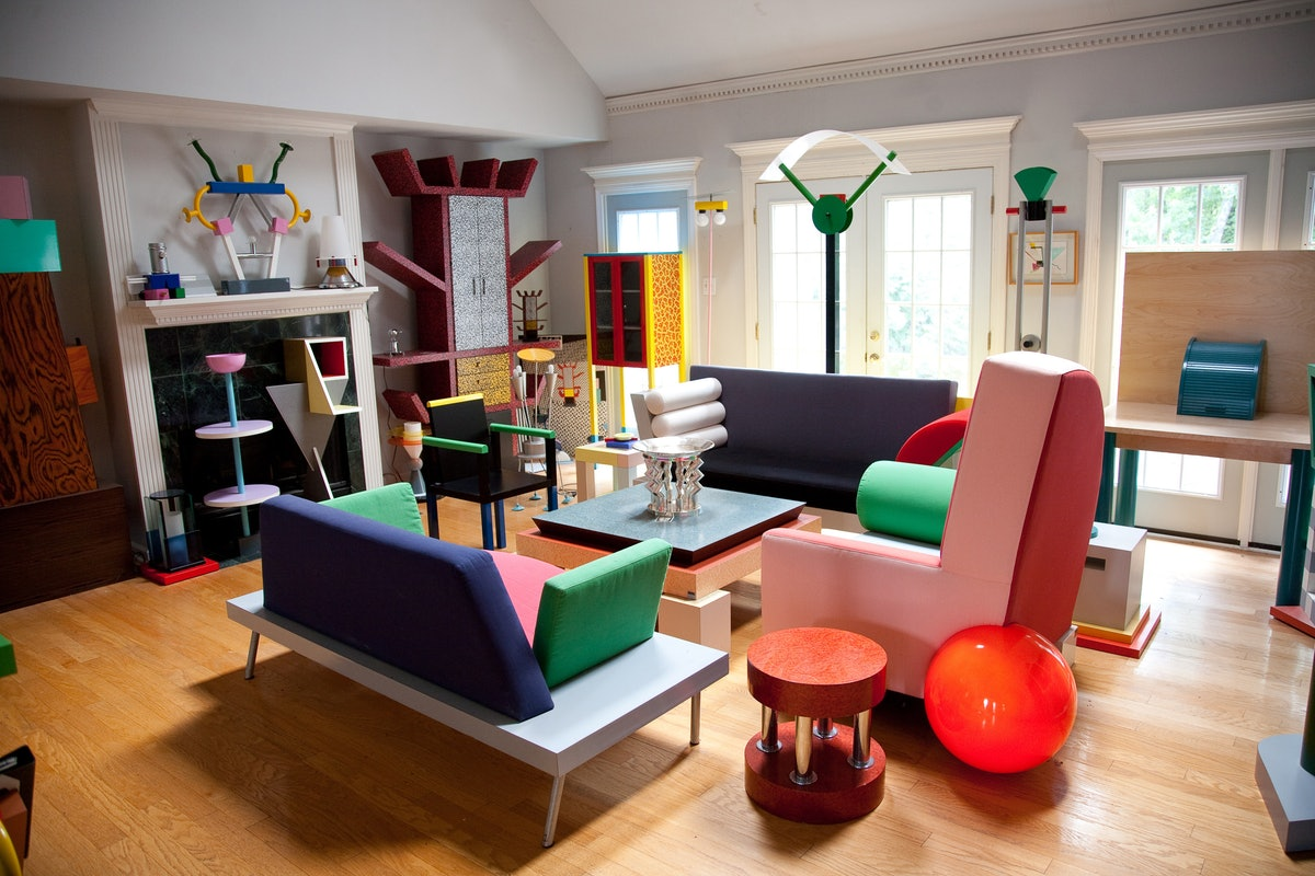 Memphis Design Living Room