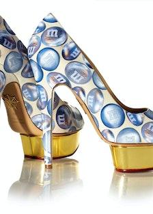 Marilyn Minter Charlotte Olympia Shoe