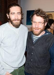 Jake Gyllenhaal and Dustin Yellin