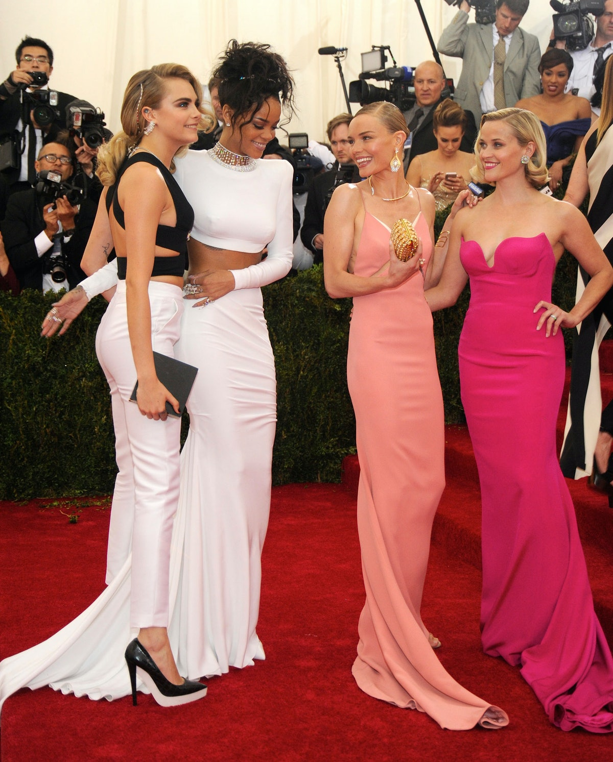 Cara Delevingne, Rihanna, Kate Bosworth, and Reese Witherspoon