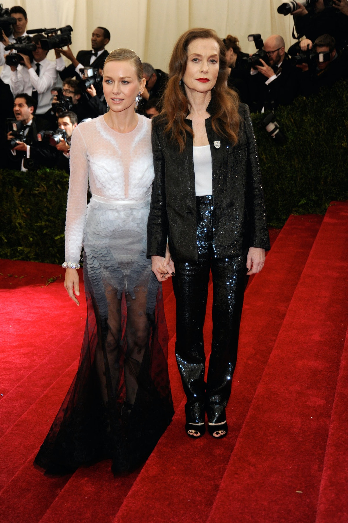 Naomi Watts and Isabelle Huppert