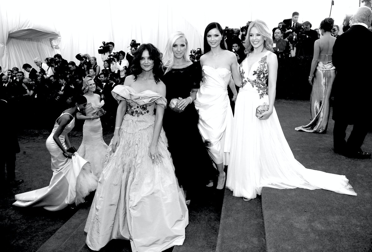 Katie Holmes, Karen Craig, Georgina Chapman, and Kylie Minogue