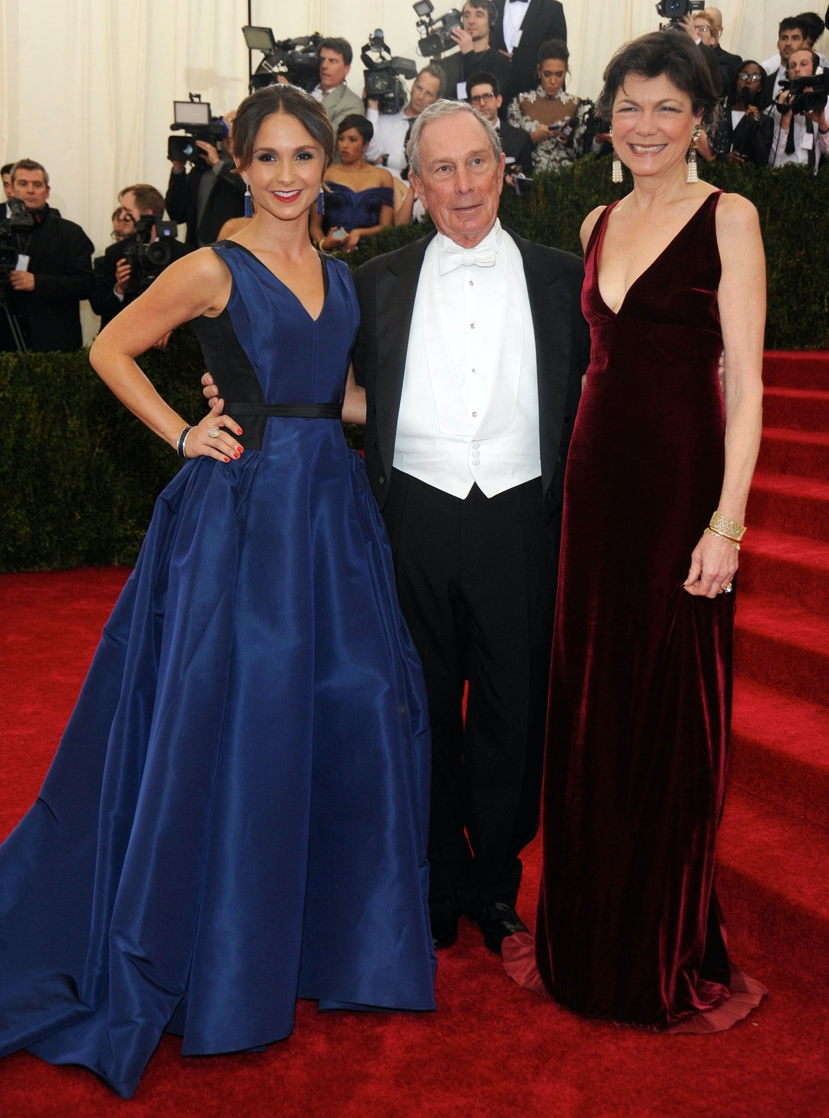 Georgina Bloomberg, Mayor Michael Bloomberg, and Diana Taylor