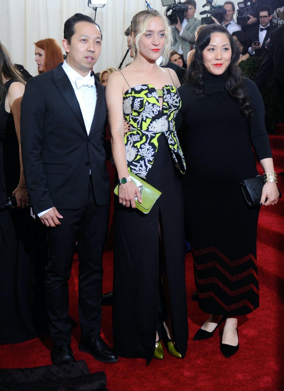 Humberto Leon, Chloe Sevigny, and Carol Lim