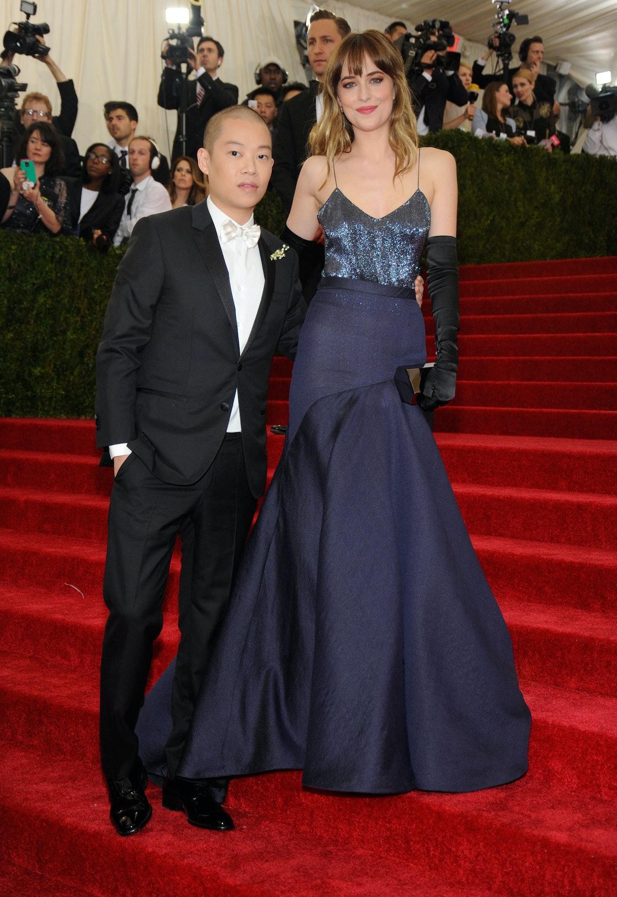 Jason Wu and Dakota Johnson