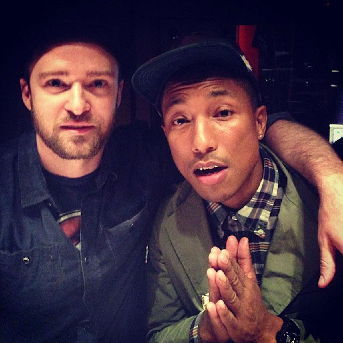 Pharrell Williams Justin Timberlake