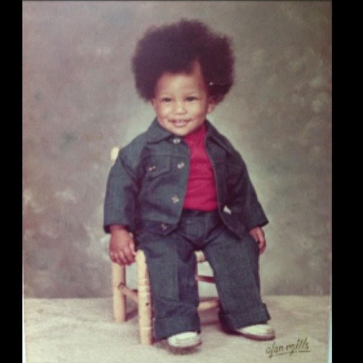 Pharrell TBT Baby Photo