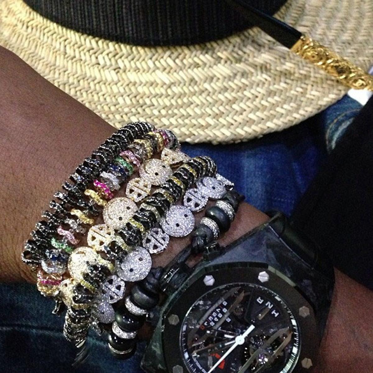 Pharrell Jewelry Instagram