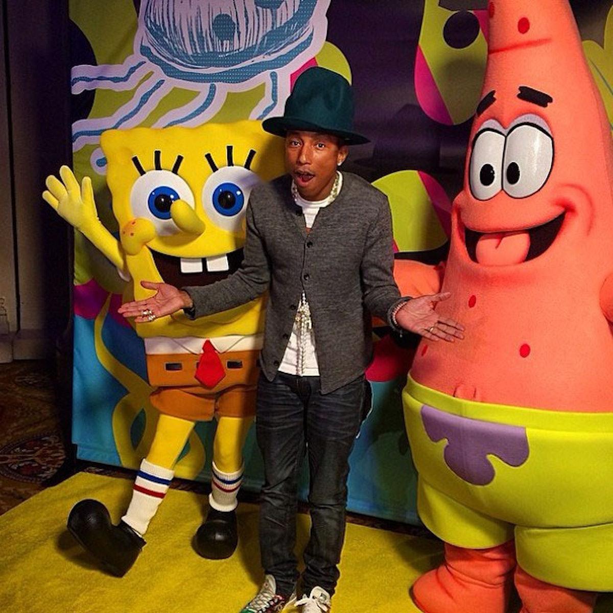 Pharrell Spongebob Birthday