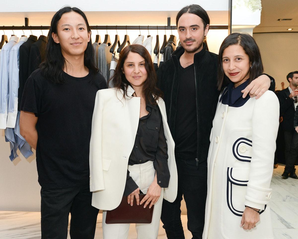 Alexander Wang, Karin Nelson, Ryan Korban, and Karla Martinez de Salas