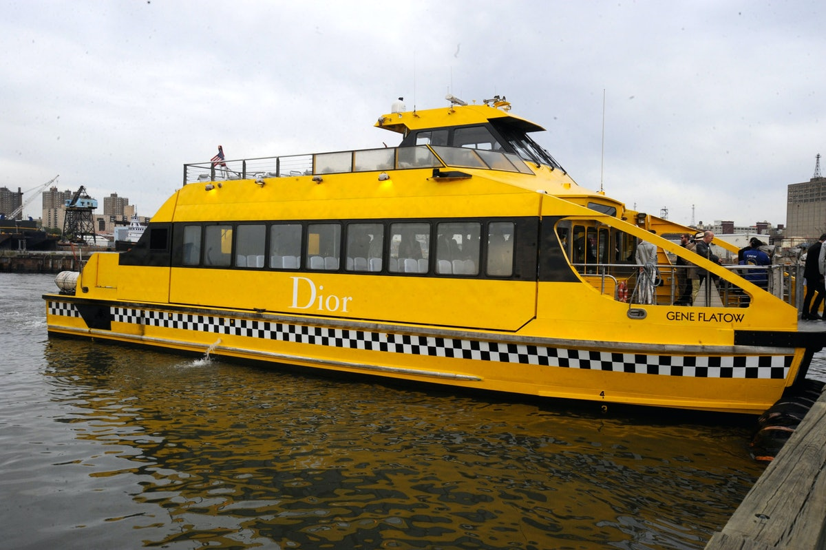 Dior water taxi