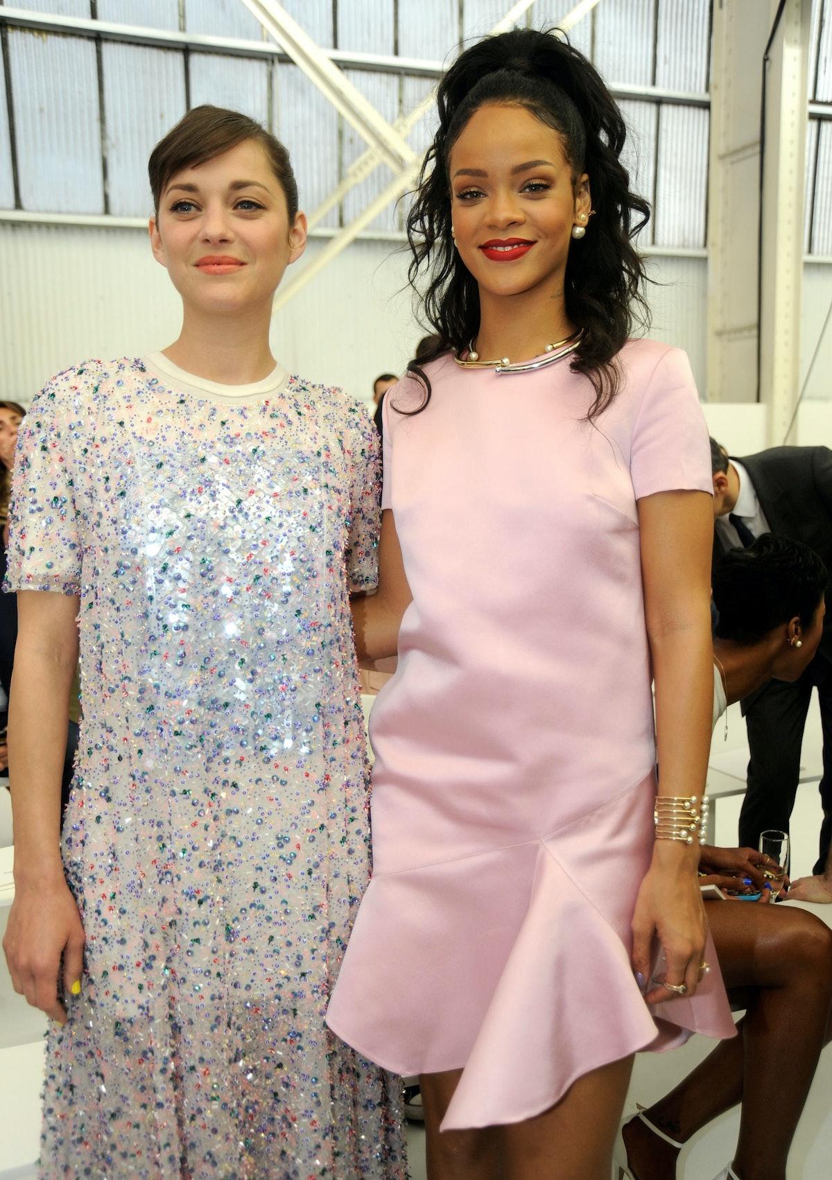 Marion Cotillard and Rihanna