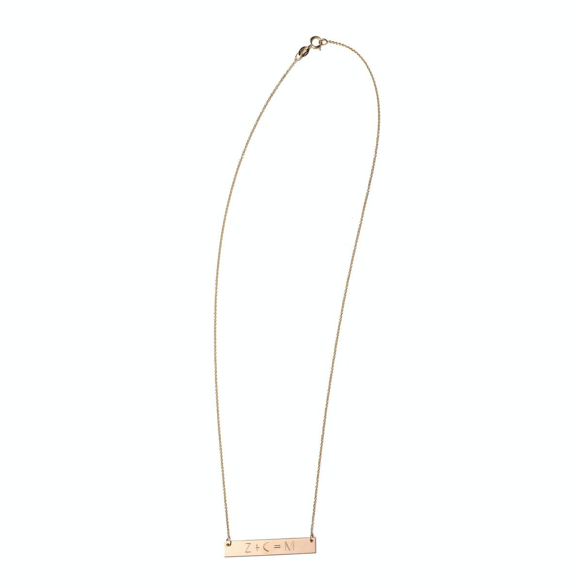 Carrie Hoffman Equation Necklace