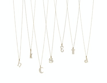 Finn initial necklaces
