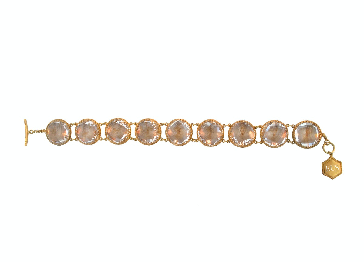Larkspur & Hawk Olivia Button bracelet