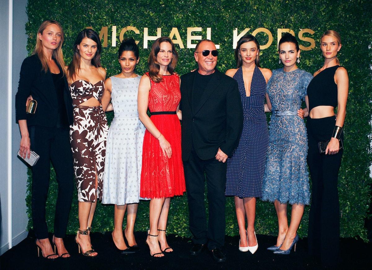 Karmen Pedaru, Isabeli Fontana, Freida Pinto, Hilary Swank, Michael Kors, Miranda Kerr, Camilla Bell...
