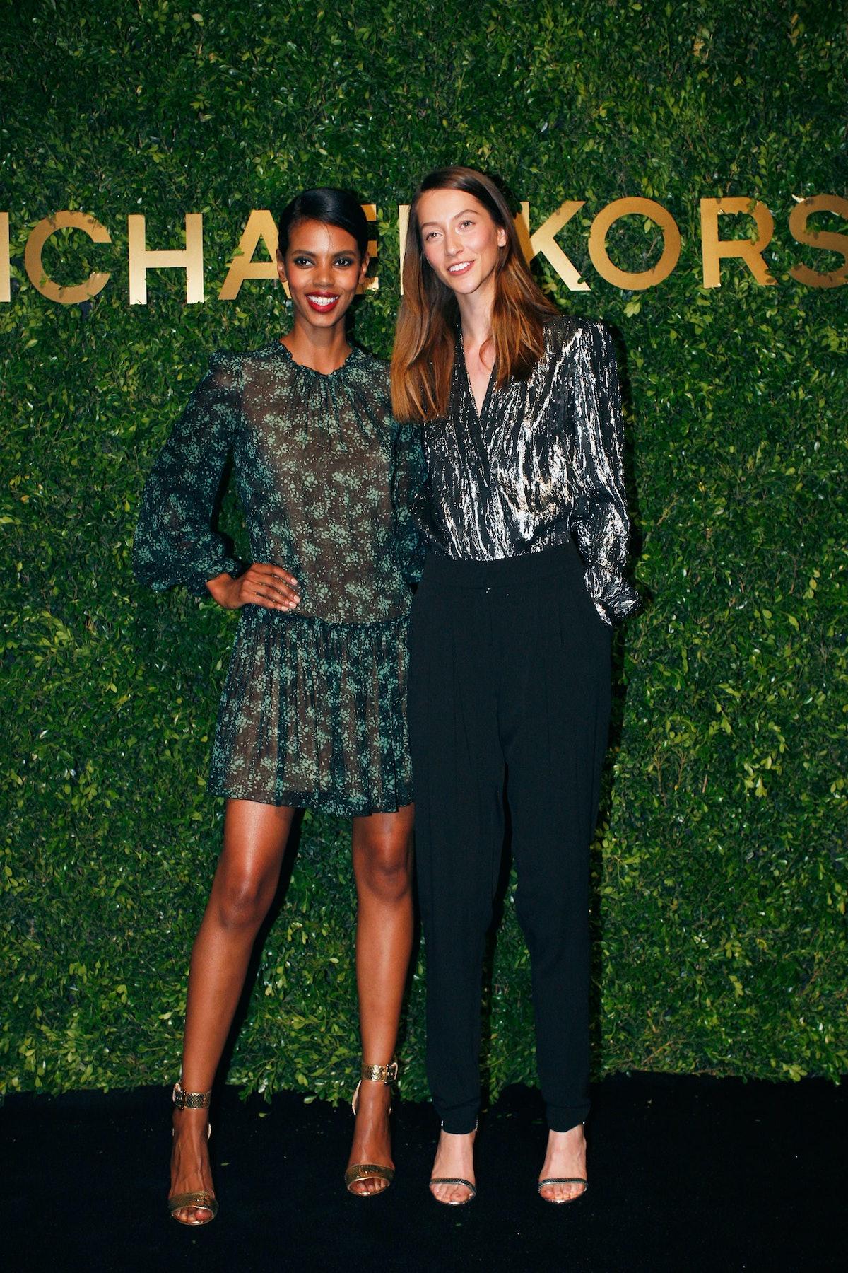 Grace Mahary and Alana Zimmer