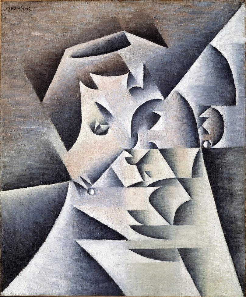 Juan Gris's Portrait de la Mère de l'Artiste