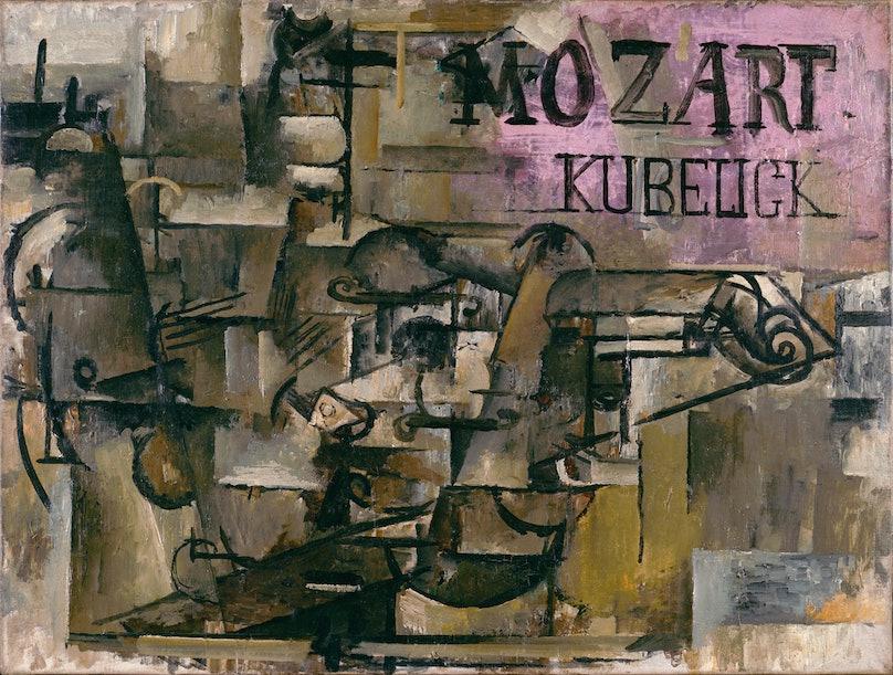 Braque's Le Violon