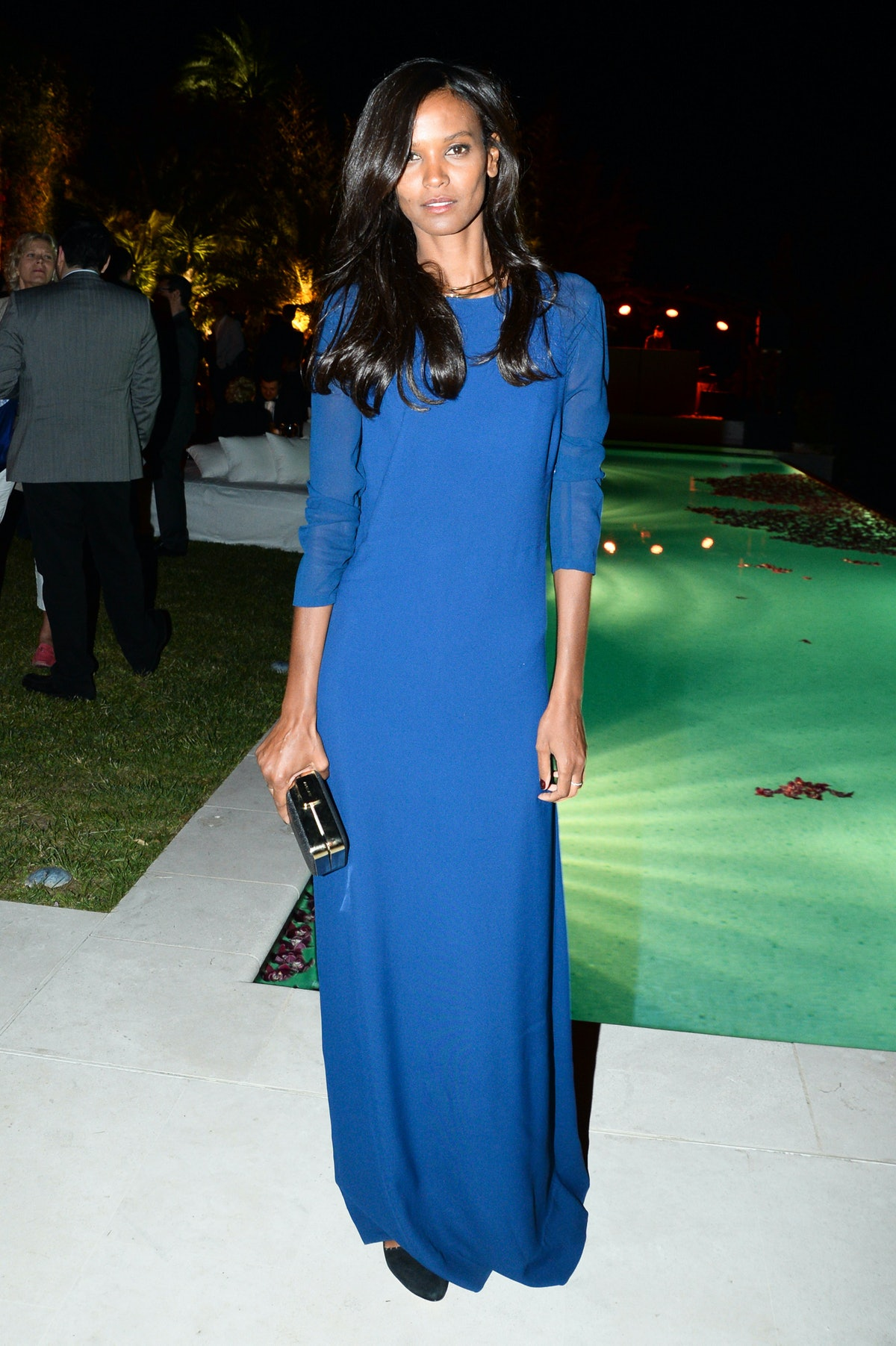 Liya Kebede Cannes 2014