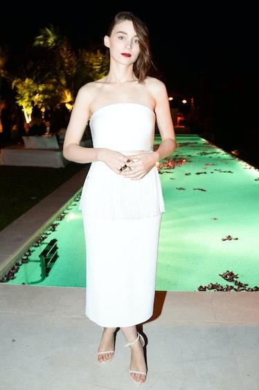 Rooney Mara in Calvin Klein Collection