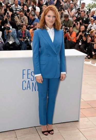 Lea Seydoux Prada Suit