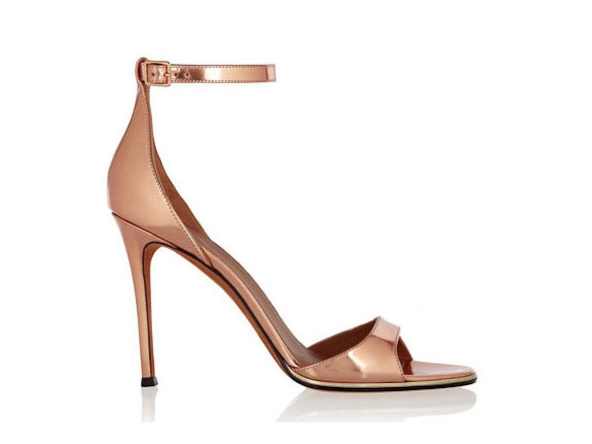 Givenchy Rose Gold Sandals