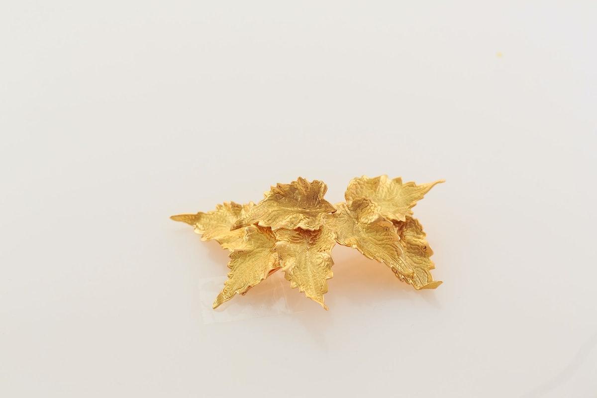 Ana Khouri Leaf Hair Pin