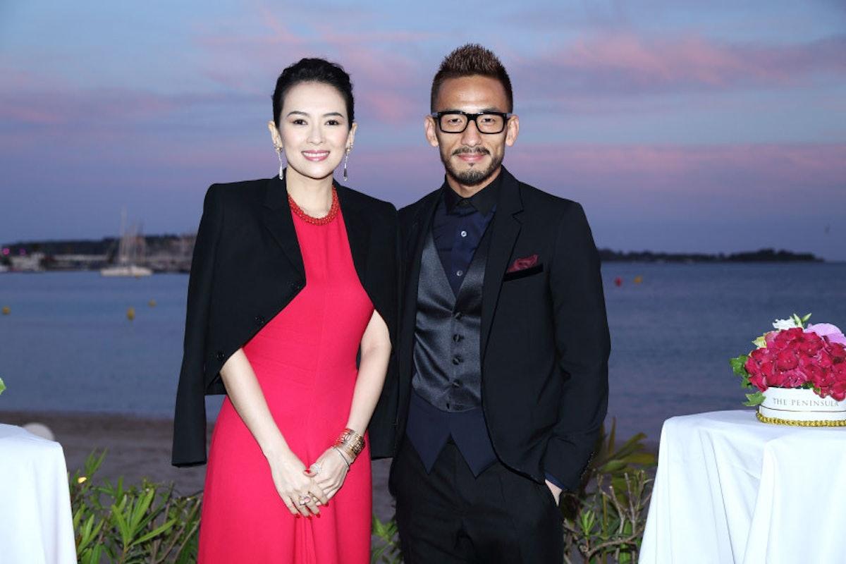 Ziyi Zhang and Hidetoshi Nakata