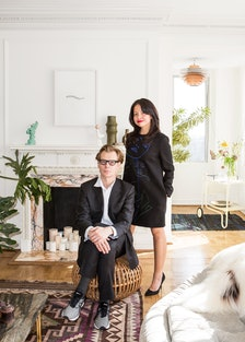 Philippe Vergne and Sylvia Chivaratanond