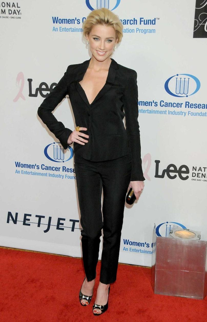 Amber Heard in 2010