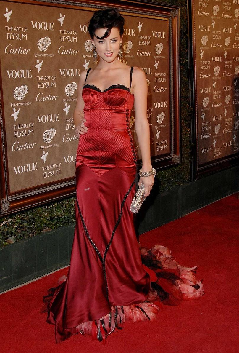 Amber Heard in 2009