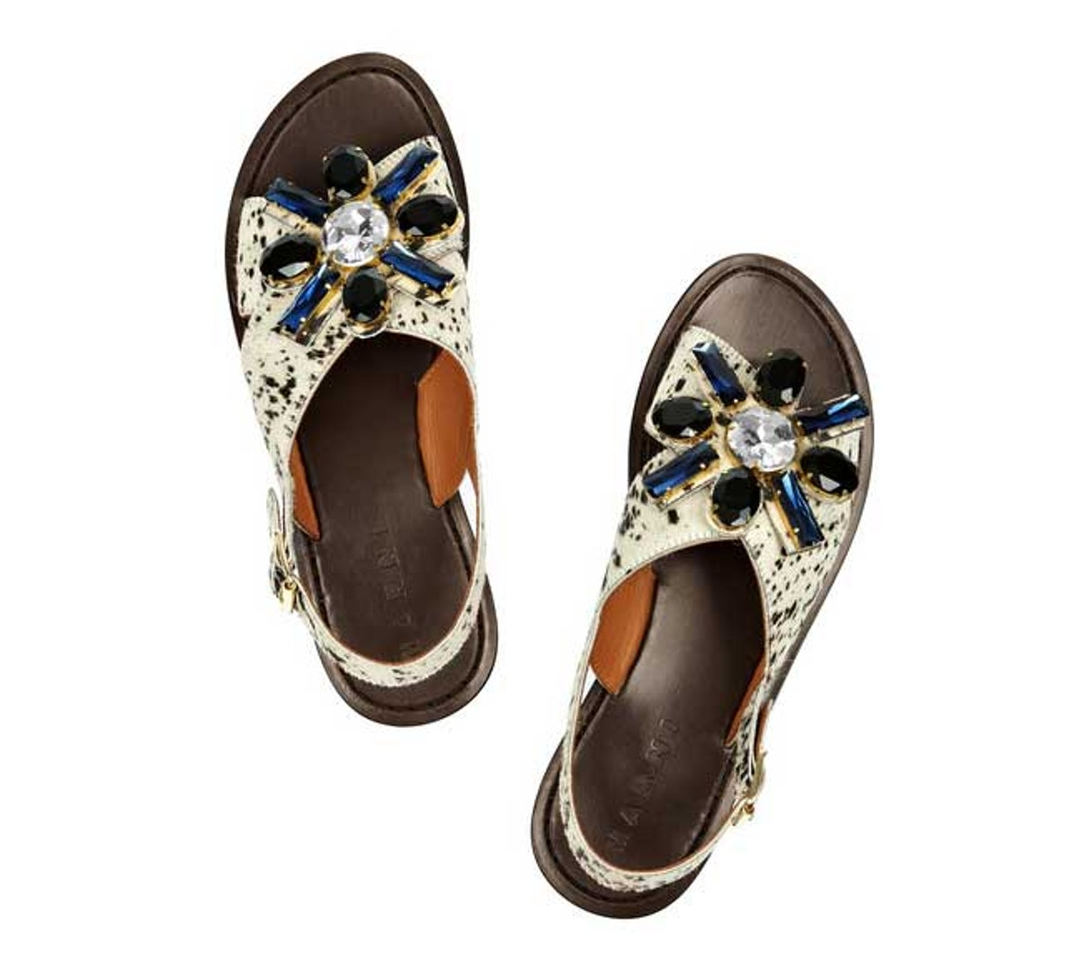 Marni Jeweled Sandals