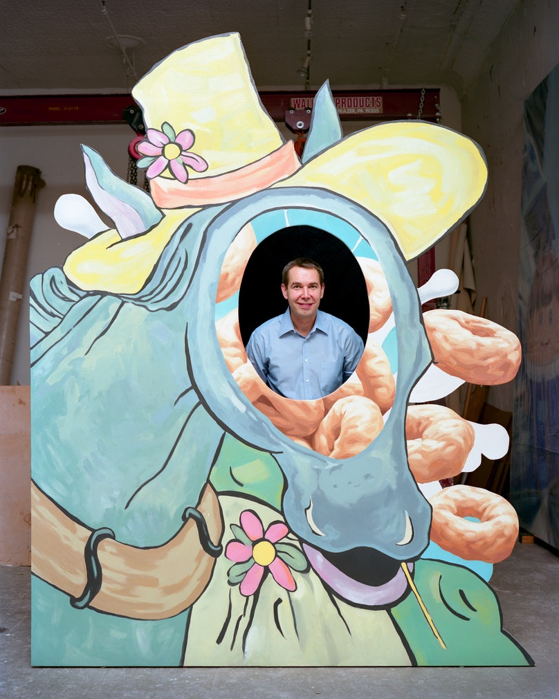 Jeff Koons Portrait