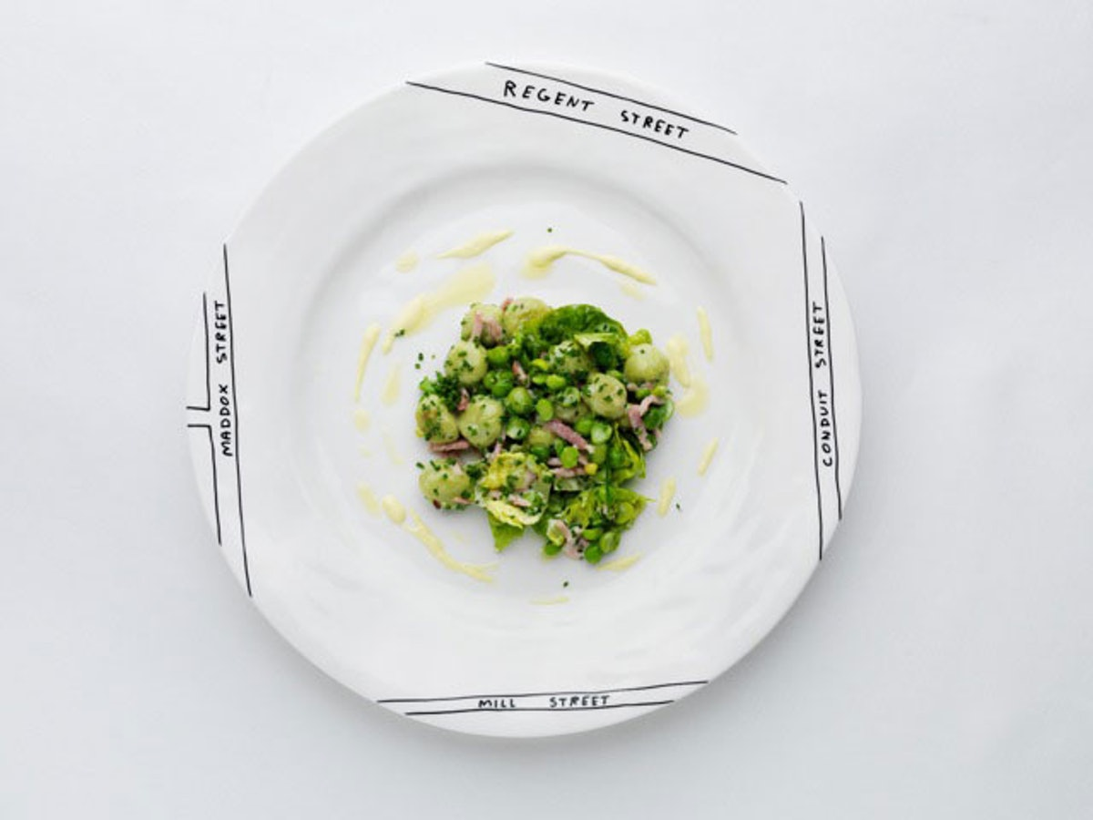 David Shrigley Plate