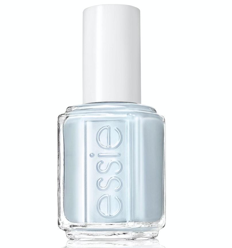 Essie blue nail polish