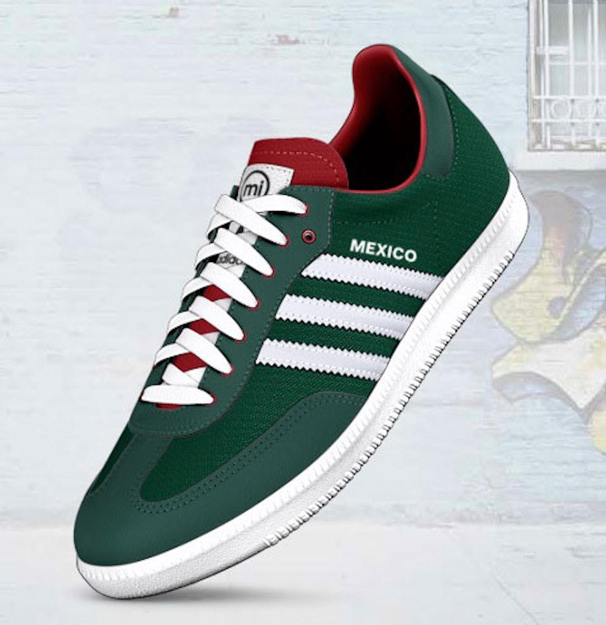 Adidas Team Mexico samba shoe