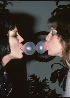 Joan Jett and Jackie Fox